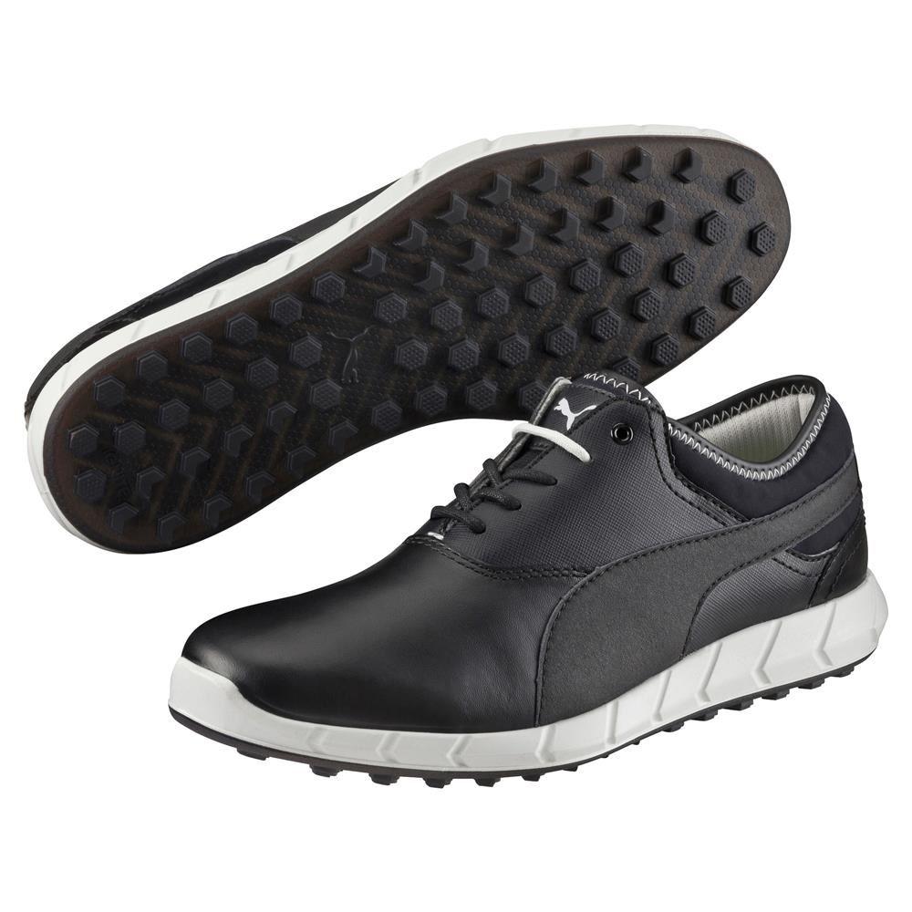 Puma Ignite Spikeless pánské golfové boty, černo/šedé černá, 8,5