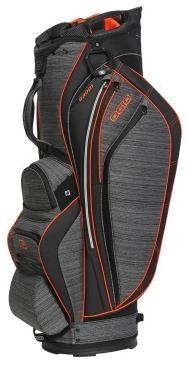 Ogio Grom cart bag, šedo/oranžový