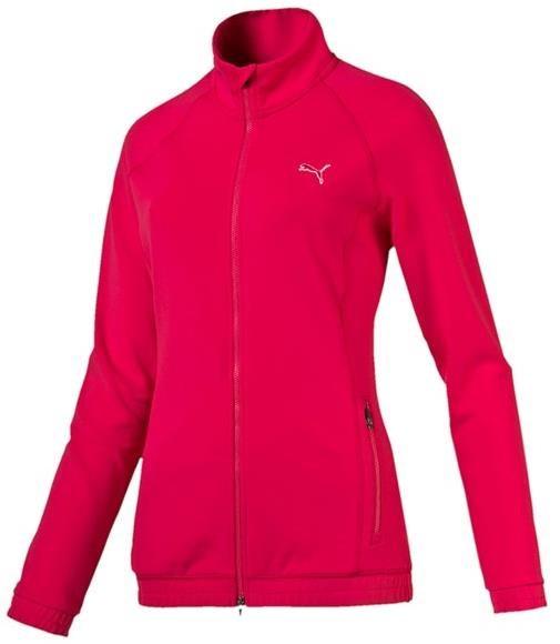 Puma Track dámská mikina, růžová dámské, L