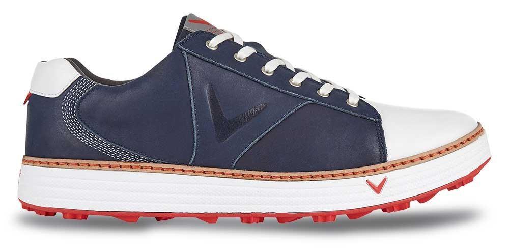 Callaway Delmar Retro pánské boty, tmavě modro/bílé modrá, standardní, 6