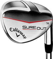 Callaway Sure Out wedge, ocel