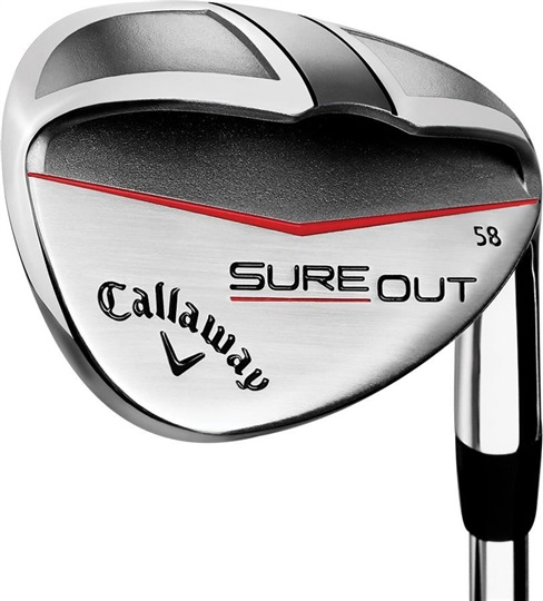 Callaway Sure Out wedge, grafit