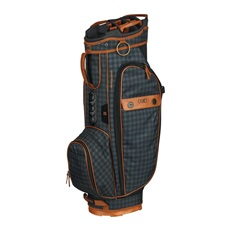 Ogio Majestic cart bag, brown leather