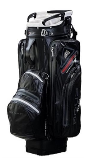 Big Max Aqua Tour 2 cart bag, černo/šedý