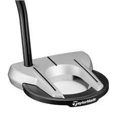 TaylorMade Spider Diamond Silver Arc 1.5 putter