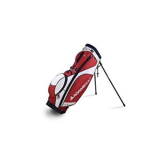Adams Golf Falcon stand bag, červeno/bílý
