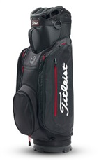 Titleist Club 14 Lightweight cart bag, černo/červený