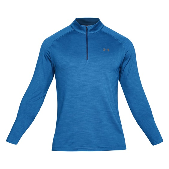 Under Armour Playoff Quarter Zip pánská mikina, mediterranean blue