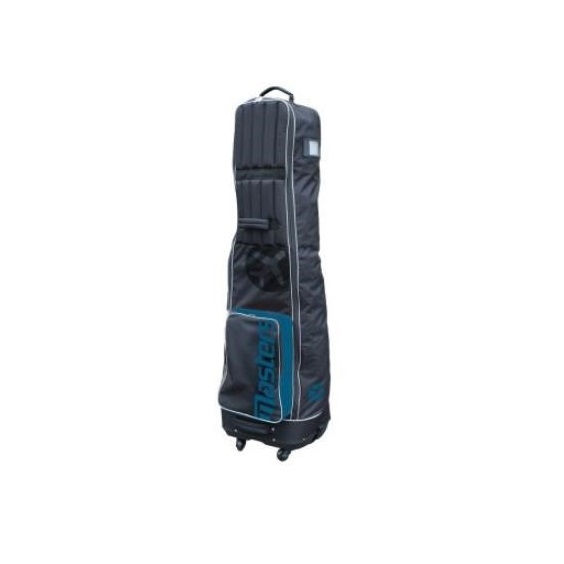 Masters Deluxe 4 Wheeled Flight Cover - Black/Blue