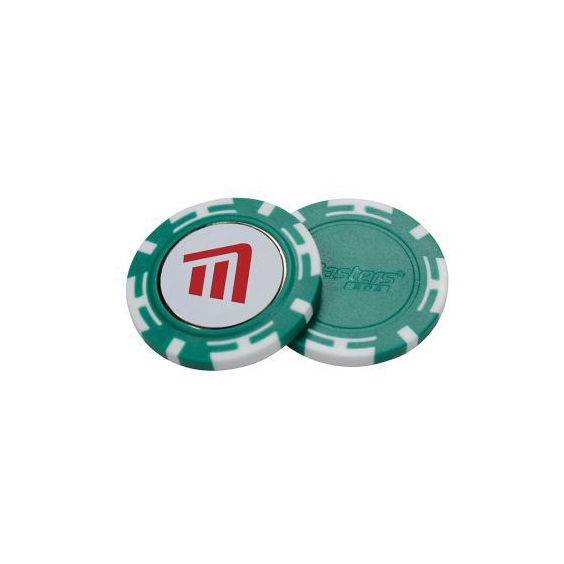 Masters Poker Chips with Mag Ball Marker
