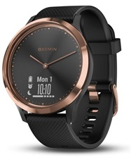Garmin vívomove Optic Sport Rose Gold Black hodinky, S/M