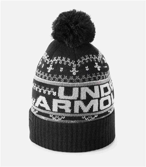 2c5a5a9021e Under Armour Retro Pom 3.0 Beanie pánská zimní čepice